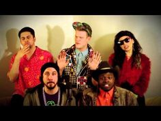 "Pentatonix's Newest Upload ""Thrift Shop"" by Macklemore and Ryan Lewis. This is not their typical sound but I LOVE IT"