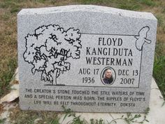 """Floyd """"Red Crow"""" Westerman (1936 - 2007) - Find A Grave Photos"""