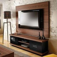 70 Rustic Tv Wall Design Ideas For Home 1 - homydezign Tv Rack Design, Tv Cabinet Design, Wall Design, Modular Furniture, Home Decor Furniture, Furniture Design, Modern Furniture, Tv Unit Decor, Tv Wall Decor