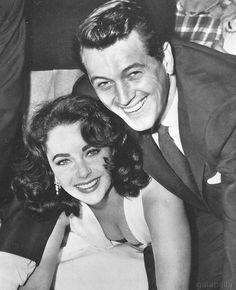 Elizabeth Taylor and Rock Hudson, 1956