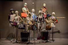 """SAKS FIFTH AVENUE, Toronto, Canada, """"Girls... No decision should be made on an empty (shopping) bag"""", photo by James Doiron, pinned by Ton van der Veer"""