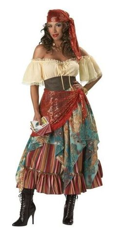 My costume for this year! :))) Gypsy Costume!!!