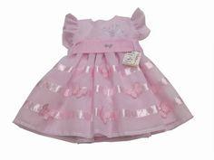 Vestido de Festa Infantil Rosa R$125,00