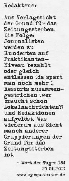 Redakteuer - www.sympatexter.de