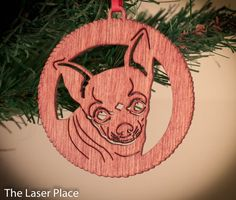 I Love My Chihuahua Chihuahua Dogs Laser cut by TheLaserPlace