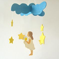 this would be cute to make for a little girl's room