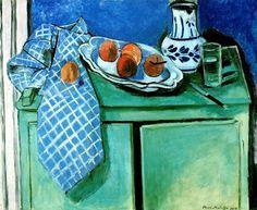 Henri Matisse: Still Life with Green Sideboard - 1928