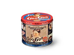 Goo Goo Cluster Assorted Collector's Tin Show just how thoughtful you are by ordering some specialty candy ahead of time. Delicious milk chocolate, caramel, marshmallow nougat, and pecan clusters originated in Nashville.          http://amzn.to/2CHPj0z