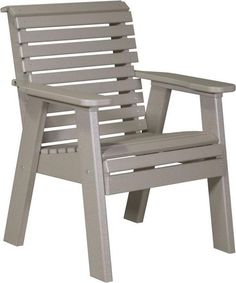 LuxCraft Poly 2' Lounge Chair Deck chairs that you can enjoy for decades! Choose from a variety of earthtones and enjoy low maintenance, eco friendly chairs outside.