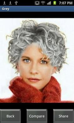 Trendy Haircut Curly Hair Women Ideas Source by judiluce Grey Hair Styles For Women, Short Hair Cuts For Women, Short Hairstyles For Women, Hairstyle Short, Haircuts For Curly Hair, Curly Hair Cuts, Curly Hair Styles, Short Haircuts, Popular Haircuts