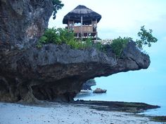 Travel Philippines: Hut at East Coast Resort,  Anda, Bohol, Philippines byEl Trinidad