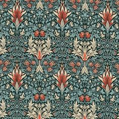 Snakeshead Fabric £59.00 per metre A thistle and russet foliage pattern fabric from the Morris & Co collection. The design takes its name from the nodding snakeshead fritillary blooms.  Rub Test20000 CareDry clean only Composition49%L 38%C 13%N Pattern Repeat31.5 cms vertical, 23.0 cms horizontal Width139.0 cms UsageSuitable for general domestic upholstery, curtains, and soft furnishings.
