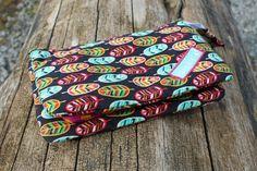 4 Freizeiten: Nähen: Taschenspieler-3-Sew-Along, Nr. 3 - der Geldbeutel, nähen, 3-fach-Tasche, Reißverschlusstäschchen, Farbenmix