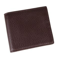 100% Real Genuine Leather Purse Wallet Billfold