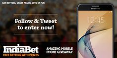 Yes, you heard that right. India Bet is giving you a chance to win a brand new Samsung Galaxy J5 for FREE. And there's not much you need to do, really.