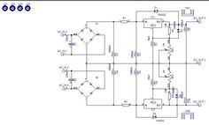 LM317 LM337 circuit