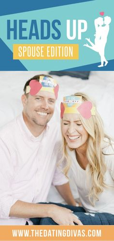 Heads Up Game Spouse Edition - From The Dating Divas Date Night Games, Couples Game Night, Date Night Ideas For Married Couples, Night Couple, Heads Up Game, Head Games, Birthday Coupons, Date Night Recipes, Young Women Activities