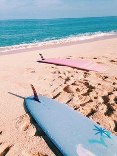 Surf and sand. Surf and sand. The Beach, Beach Day, Summer Surf, Summer Vibes, Pink Summer, Palette Pastel, Tumblr Ocean, Lacanau Ocean, Ocean Waves