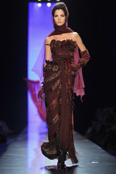 Birds! Jean Paul Gaultier Couture: Plume-Filled