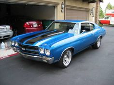 My mouth just started watering.  Haha Chevelles are beautiful cars! 70's is by far the best decade of muscle car history!