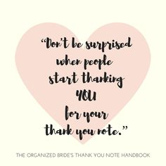 31 Best The Organized Bride S Thank You Note Handbook Images