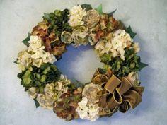 Home Décor Wreath by Silk Petals of Amityville