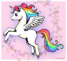 Gooey sweet unicorn