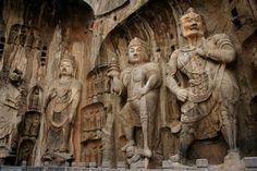 The Longmen Grottoes, Luoyang, Henan