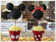 Just a Little Party . . . : Twin Boy/Girl MICKEY & MINNIE MOUSE Birthday Party
