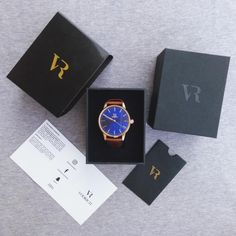 Unboxing the Iconic Rose Gold/Blue Check out the full...