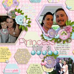 All dressed up at my sister-in-law's wedding.   credits: 100% Princess Bundle by Digilicious Design and retired template from Southern Serenity Designs