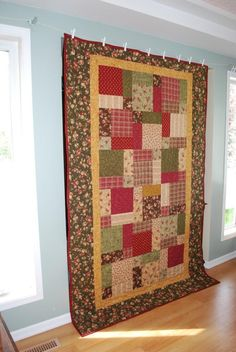 Cozy Country Quilt. $250.00, via Etsy.