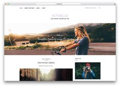 Top 53 Awesome Responsive & Free Bootstrap WordPress Themes