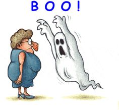 "doyoulikevintage:  "" BOO!  """