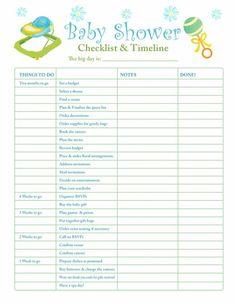 Baby Shower Checklist in 9 Steps