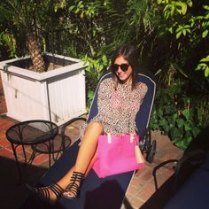DJ Lindsay Luv #GoWest Playlist // How awesome is her bag?