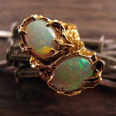 Erstwhile Jewelry- love me a fiery opal!!!
