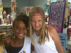 Bizzy Girls at Santa Monica Place and Cheryl Fudge