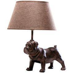 Lampa stołowa Mops, kare design