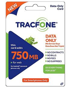 Tracfone Data Pin Add-On (Data Only For Android Smartphones) Tracfone USA Only Adds of DATA For Android Smartphones or BYOP Smartphones only Does not add service days or minutes You will receive PIN number print-out in the mail Smartphone Plans, Cell Phone Service, Data Plan, Do Everything, Message Card, Text Messages, Cell Phone Accessories, Texts, Walmart