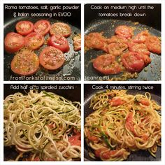 Zucchini Noodles (Zoodles) | From Forks to Fitness