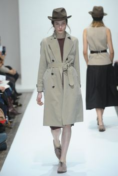 Margaret Howell belted trench - a happy, happy sample sale purchase last year