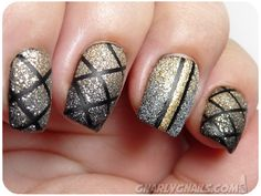 I've been intrigued by the texture polishes, but this mani makes me fall in love.