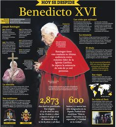 Hoy se despide Benedicto XVI  http://infografiasdelperu.blogspot.com/2013/02/hoy-se-despide-benedicto-xvi.html