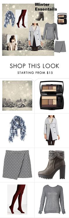 """""""winter essentials"""" by vivianrose-11 on Polyvore featuring Lancôme, Madewell, Charlotte Russe, Monki and Hansel from Basel"""