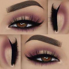 Gorgeous Makeup: Tips and Tricks With Eye Makeup and Eyeshadow – Makeup Design Ideas Gorgeous Makeup, Pretty Makeup, Love Makeup, Makeup Inspo, Beauty Makeup, Makeup Set, Perfect Makeup, Hair Beauty, Smoky Eye Makeup