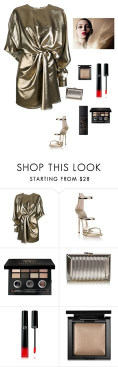 """Summer"" by kotnourka ❤ liked on Polyvore featuring Yves Saint Laurent, Giuseppe Zanotti, Bobbi Brown Cosmetics, Giorgio Armani, Bare Escentuals and NARS Cosmetics"