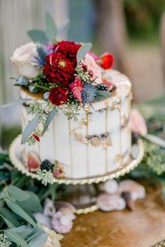 Rosamaria G Frangini |Wedding Cake | Cake Artist |  Elegant floral wedding cake