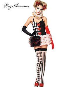 Cirque Sinister Bo Bo The Clown Costume | BOBOu0027s Bloody Freakshow | Pinterest | Fancy dress costume Halloween fancy dress and Costumes  sc 1 st  Pinterest & Cirque Sinister Bo Bo The Clown Costume | BOBOu0027s Bloody Freakshow ...