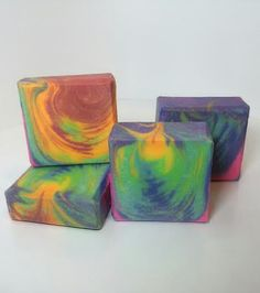 Handmade soap by Lede V.: Clyde Slide Challenge Club - The birth of the universe